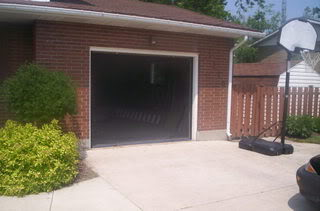 Instant Garage Screens